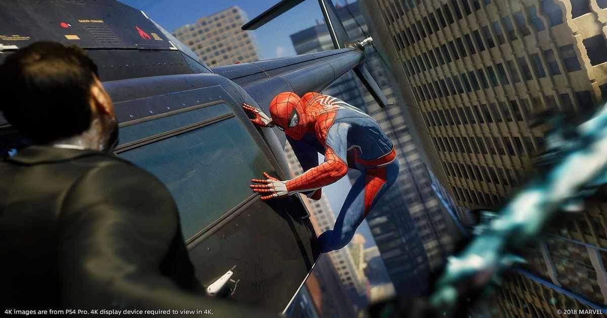 spider-man guida nemici