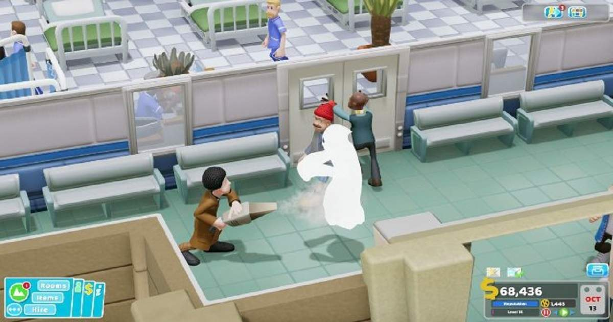 two point hospital guida fantasmi