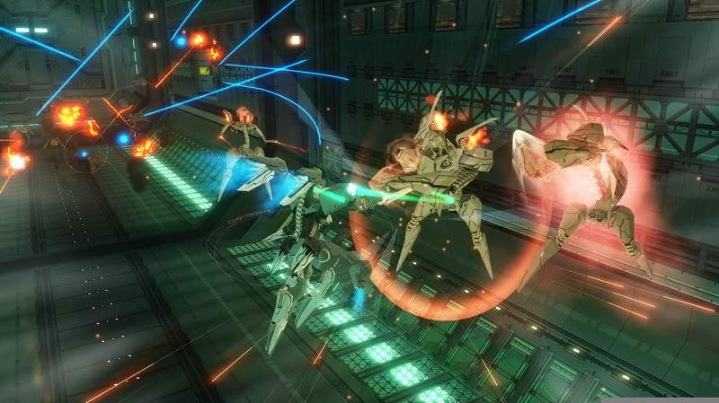 zone of the enders recensione