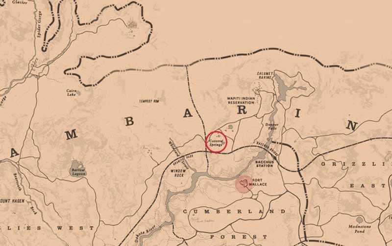 mappe del tesoro red dead redemption 2