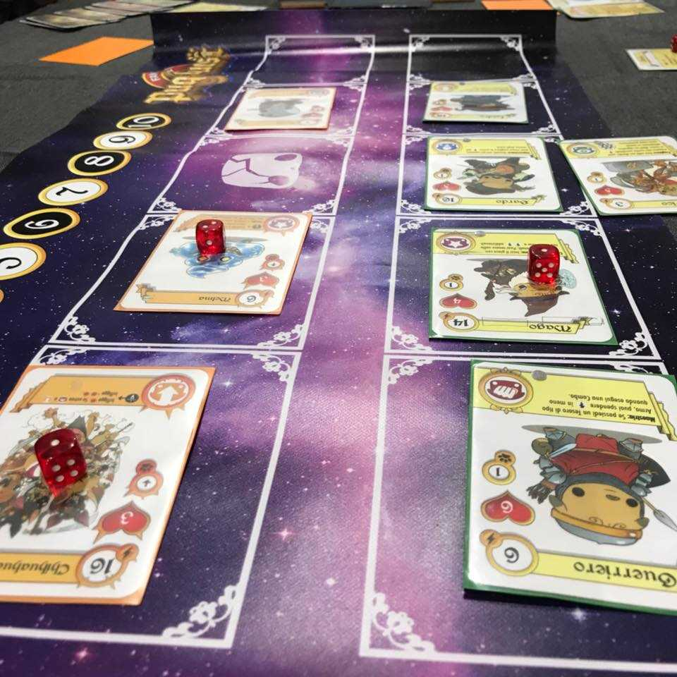 fantasy pug quest recensione gdt boardgame tin hat games plancia