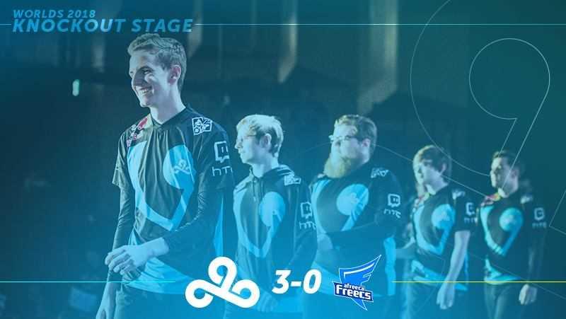 Cloud9 finale, Cloud9 semifinale, cloud9 vs Afreeca Freecs