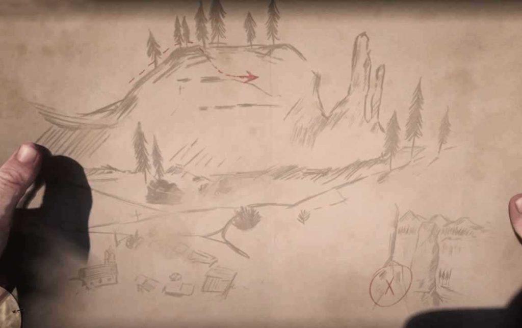 soluzione delle mappe del tesoro in red dead redemption 2