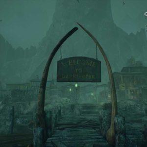 l'isola di Darkwater