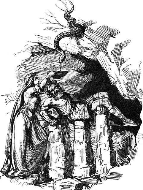 La catena Gleipnir, Gleipnir e Loki, la punizione di Loki, Loki nell'arte, Loki nella mitologia norrena, Loki nella mitologia nordica