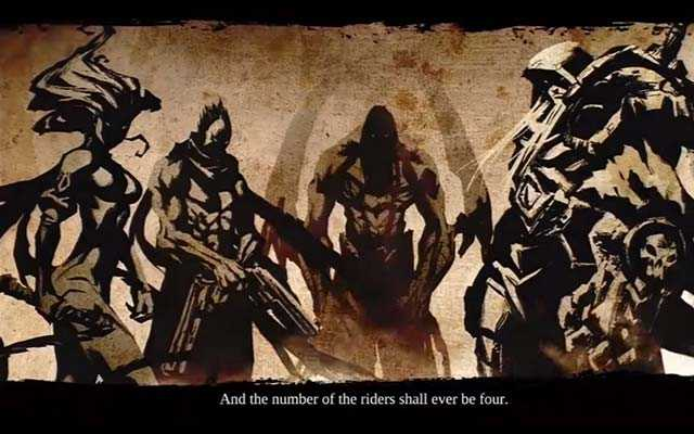 Ritorno dei Cavalieri dell'Apocalisse in Darksiders, Guerra resuscita in Darksiders, Morte resuscita in Darksiders