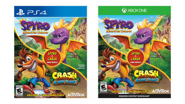 bundle crash spyro