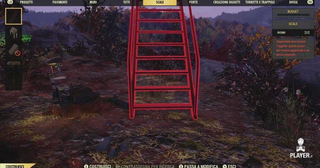 Fallout 76 come funziona il Camp?