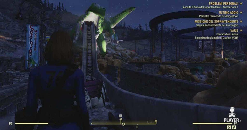 Il parco acquatico radioattivo di Fallout 76