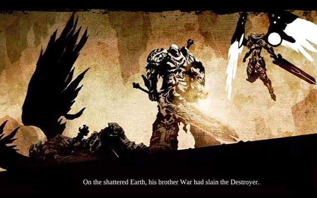 Guerra in Darksiders 1, finale di Darksiders 1, Darksiders 1 ending