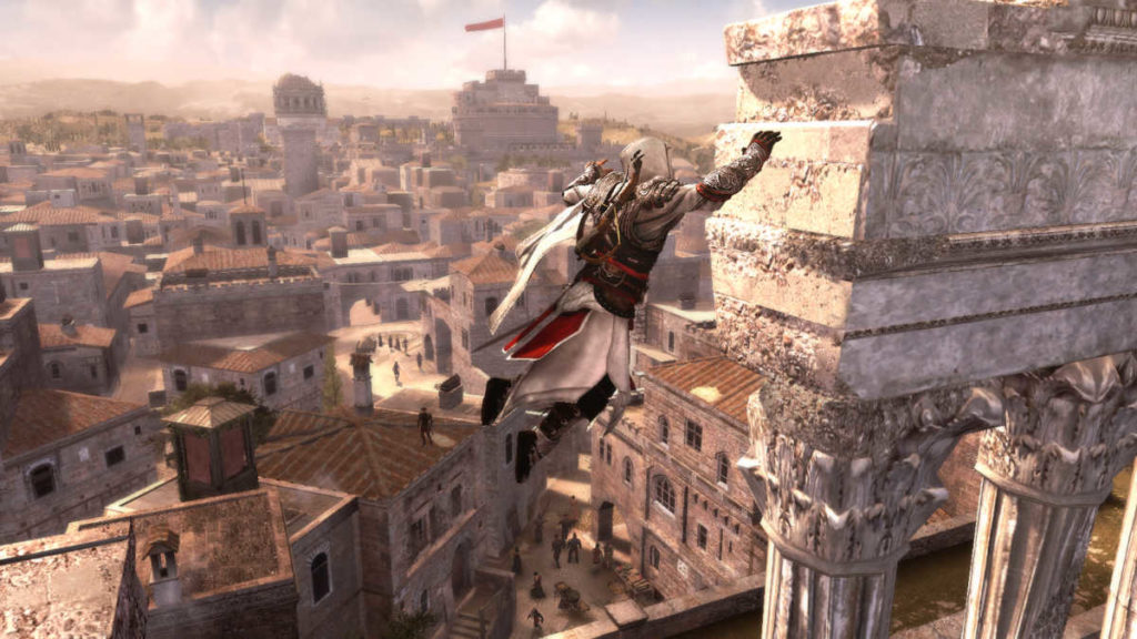 Italy&Videogames Assassin's Creed Brotherhood - Castel Sant'Angelo