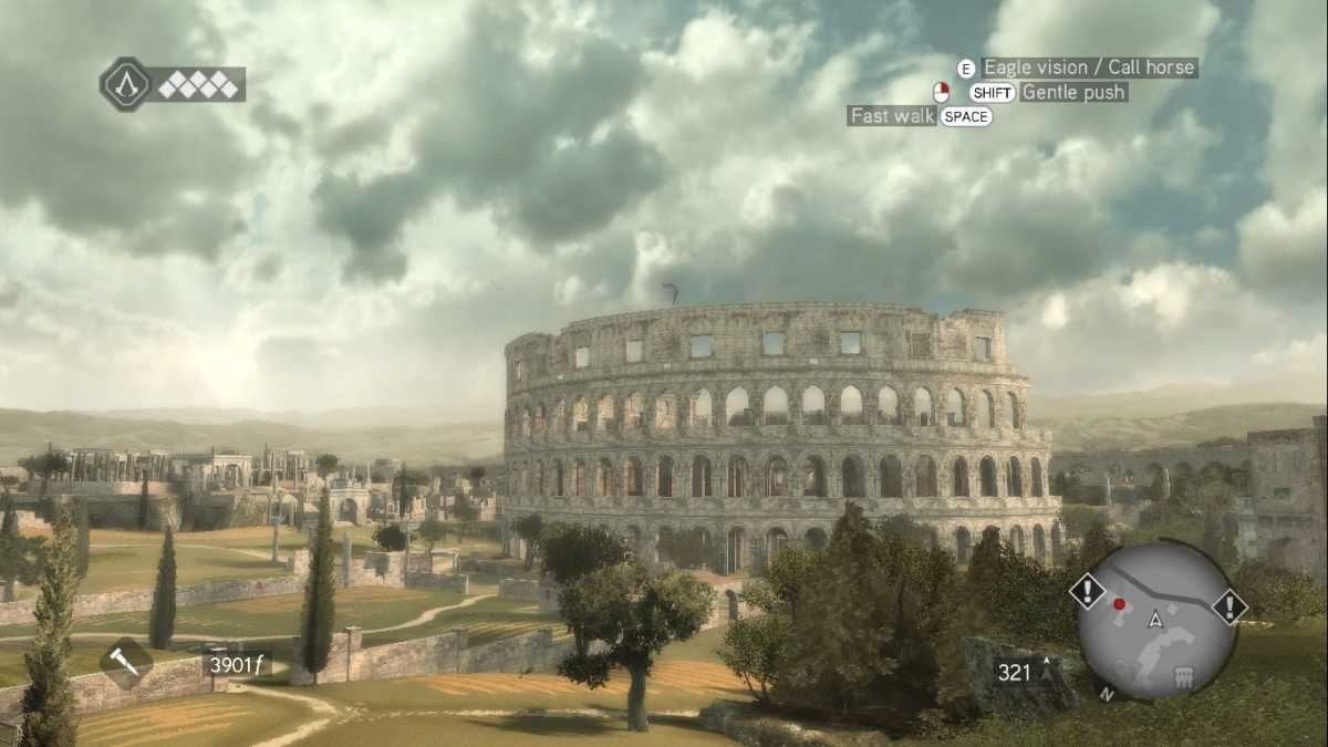 Italy&Videogames Assassin's Creed Brotherhood - Colosseo