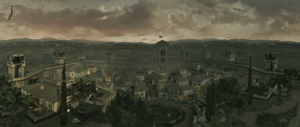 Italy&Videogames Assassin's Creed Brotherhood - Monteriggioni