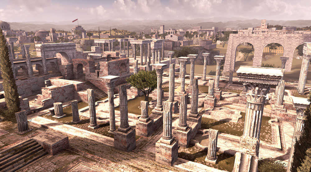 Italy&Videogames Assassin's Creed Brotherhood - Terme di Traiano
