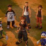 Kingdom Hearts 3 Crepuscopoli Hayner Pence Olette Sora Paperino Pippo