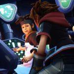 Kingdom Hearts 3 Laboratorio Pence Sora e Pippo