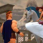 Kingdom Hearts 3 Monte Olimpo Ercules Sora Pegaso