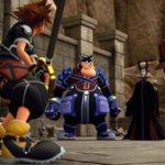 Kingdom Hearts 3 Olimpo Sora Paperino Pippo Gamba di legno Malefica