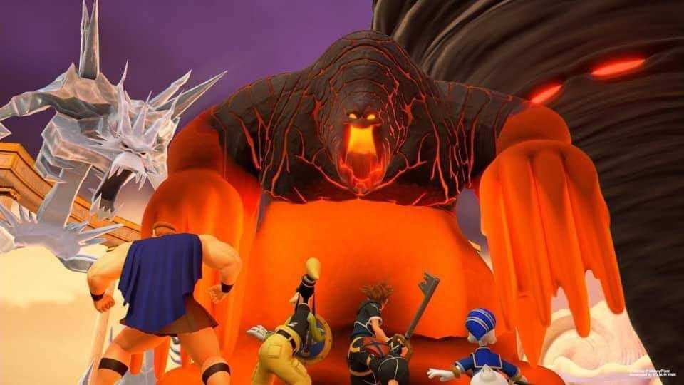 kingdom hearts 3 in anteprima al lucca comics & games