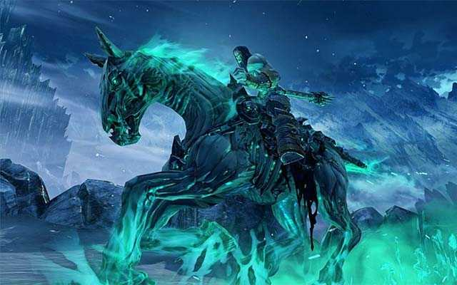 La Morte cavalca, cavallo di Morte in Darksiders 2, cavalcatura di Morte in Darksiders, Disperazione in Darksiders 2