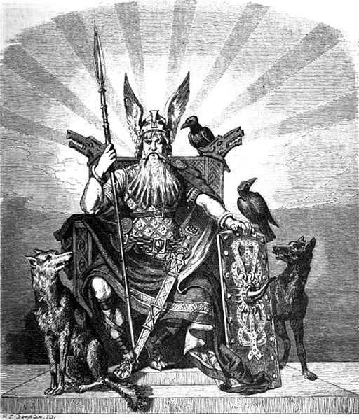 Odino mitologia norrena