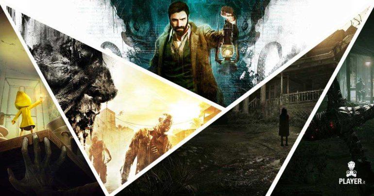Top survival horror, i migliori giochi d'orrore per PS4, Xbox One, Pc e Nintendo Switch