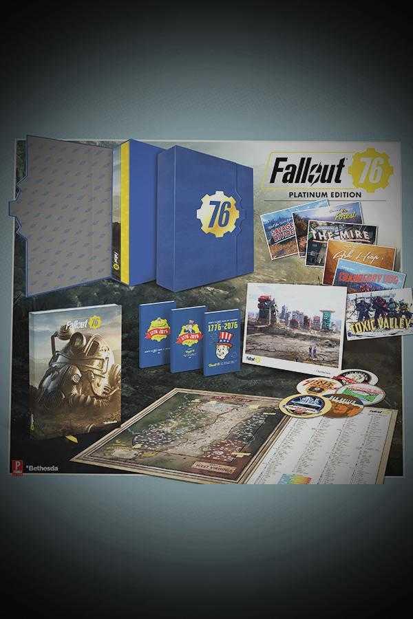 Fallout 76 platiun guide edition
