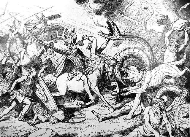 Ragnarok mitologia norrena