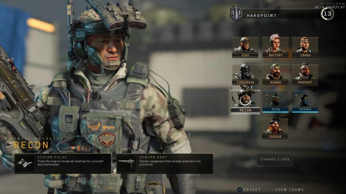 recon, specialista black ops 4