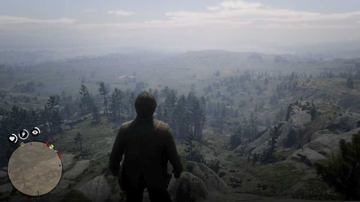 Red Dead Redemption 2 paesaggio