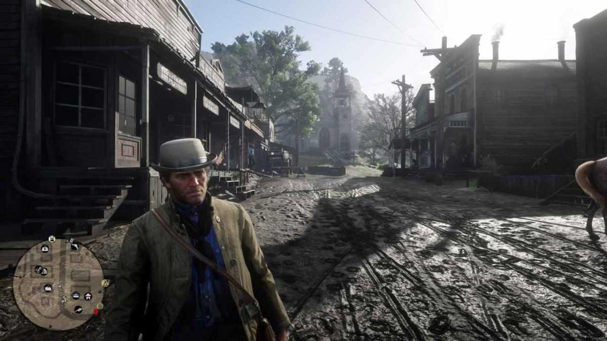 Red Dead Redemption 2 villaggio