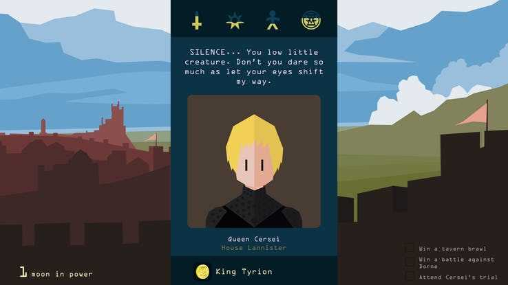 Reigns: Game of Thrones Cersei Lannister