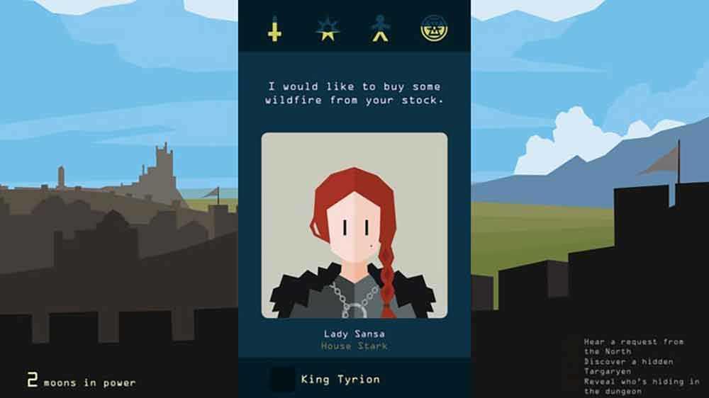 Reigns: Game of Thrones Sansa Stark