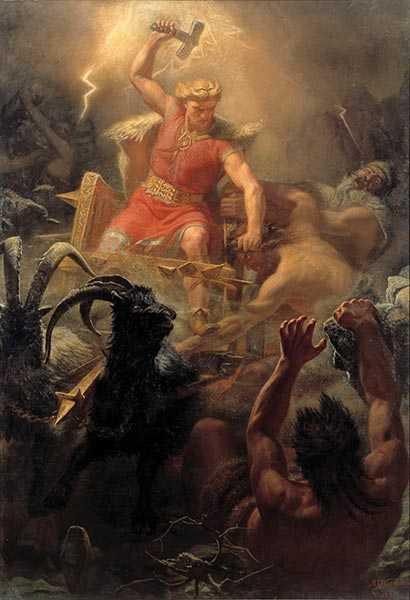 Thor mitologia norrena