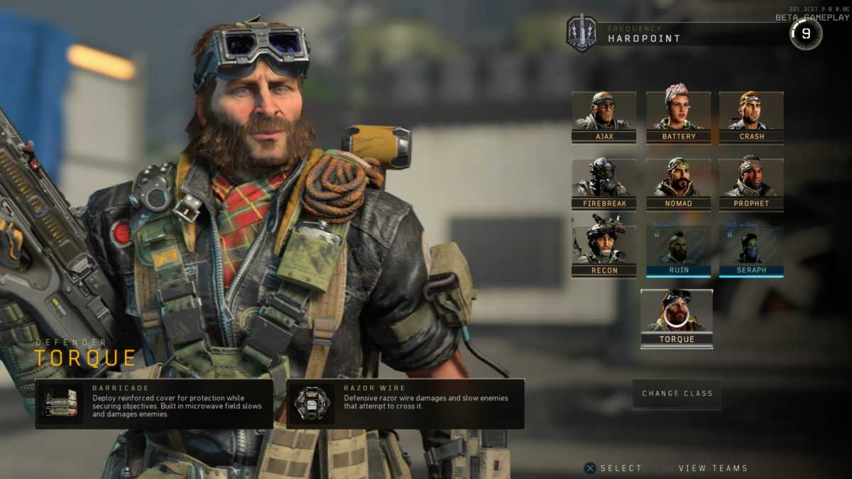 Torque, personaggio specialista di call of duty black ops 4