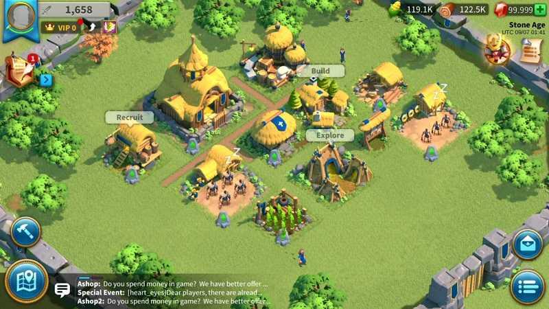 rise of civilizations, MMO strategico per android