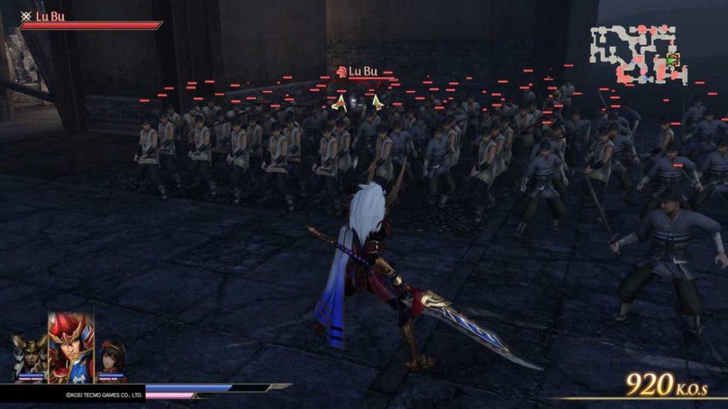 Warriors Orochi 4 scontro con Lu Bu