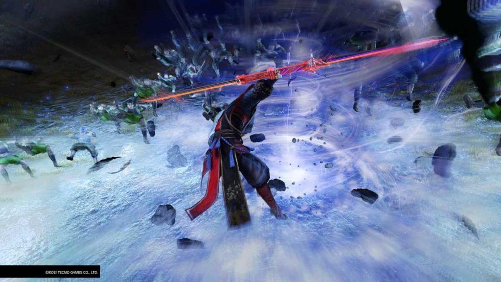 Warriors Orochi 4 attacco musou di Nobuyuki Sanada