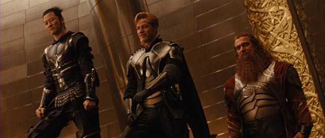 Tre Guerrieri Marvel