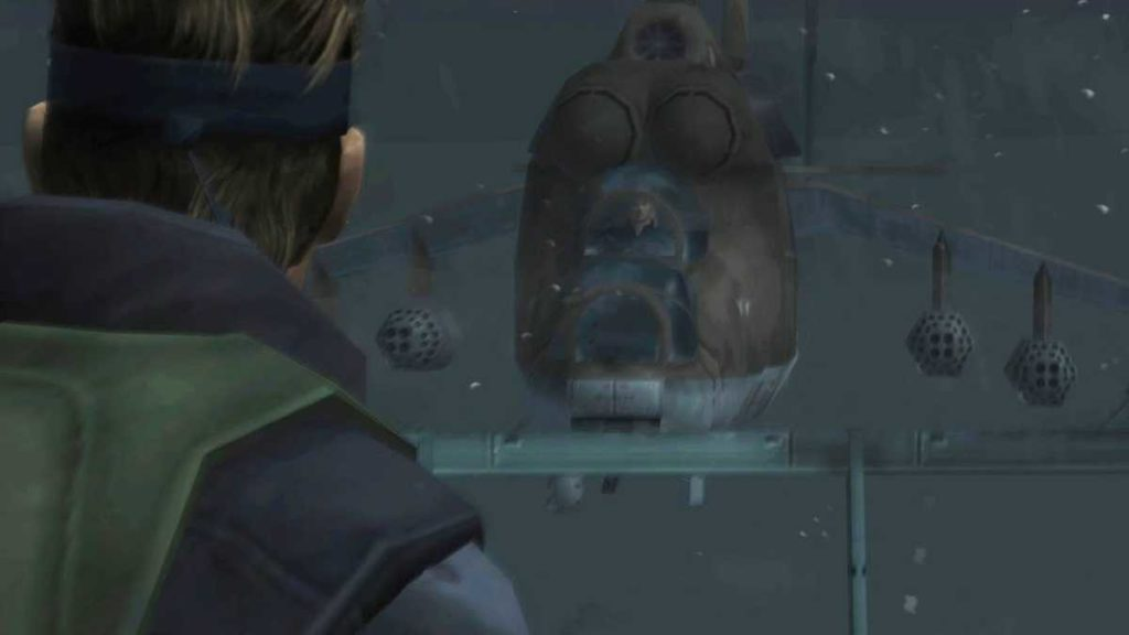 Metal Gear Solid: Twin Snakes hind d cutscene
