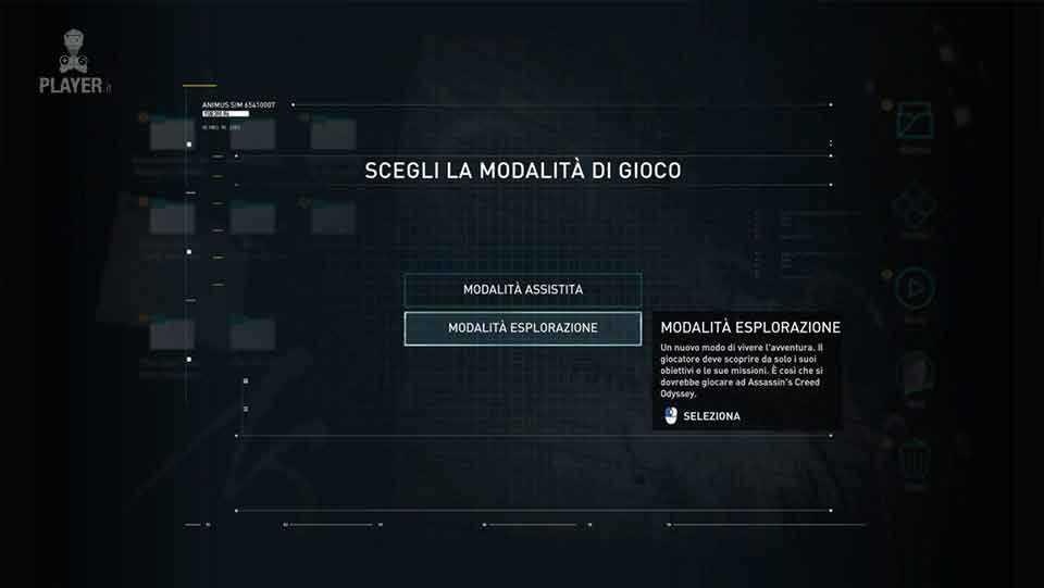 assassin's creed origins modalità di gioco