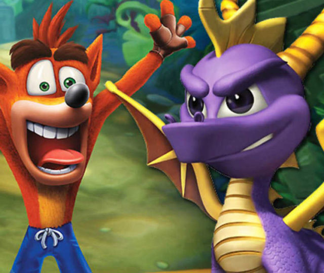 In arrivo il bundle con le remastered di Spyro e Crash