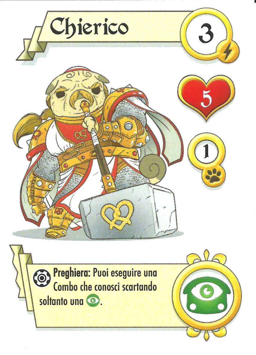 fantasy pug quest recensione gdt boardgame tin hat games chierico