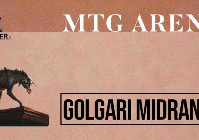 MTG Arena golgari midrange magic the gathering