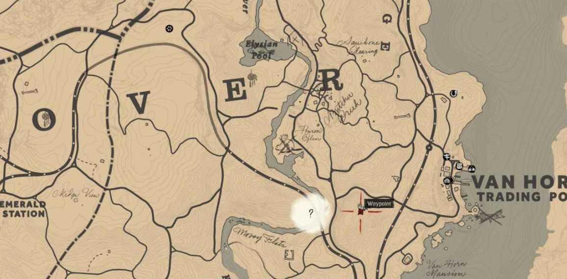 caccia ai tesori, tutte le mappe rdr2
