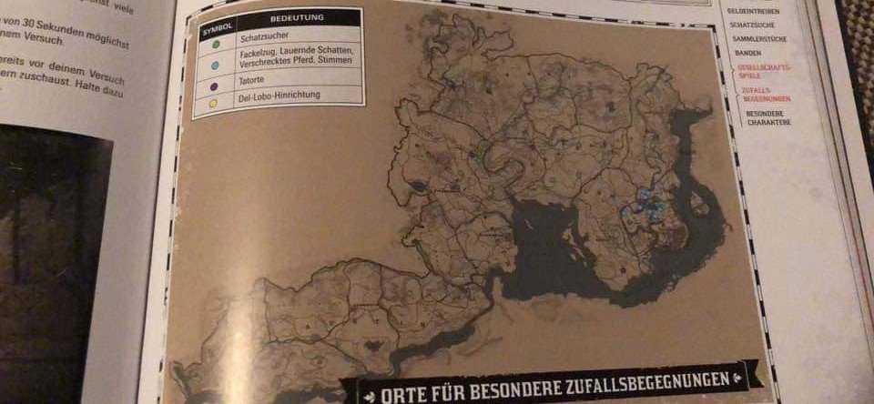 su Twitter, spoilerata la mappa di Red Dead Redemption 2
