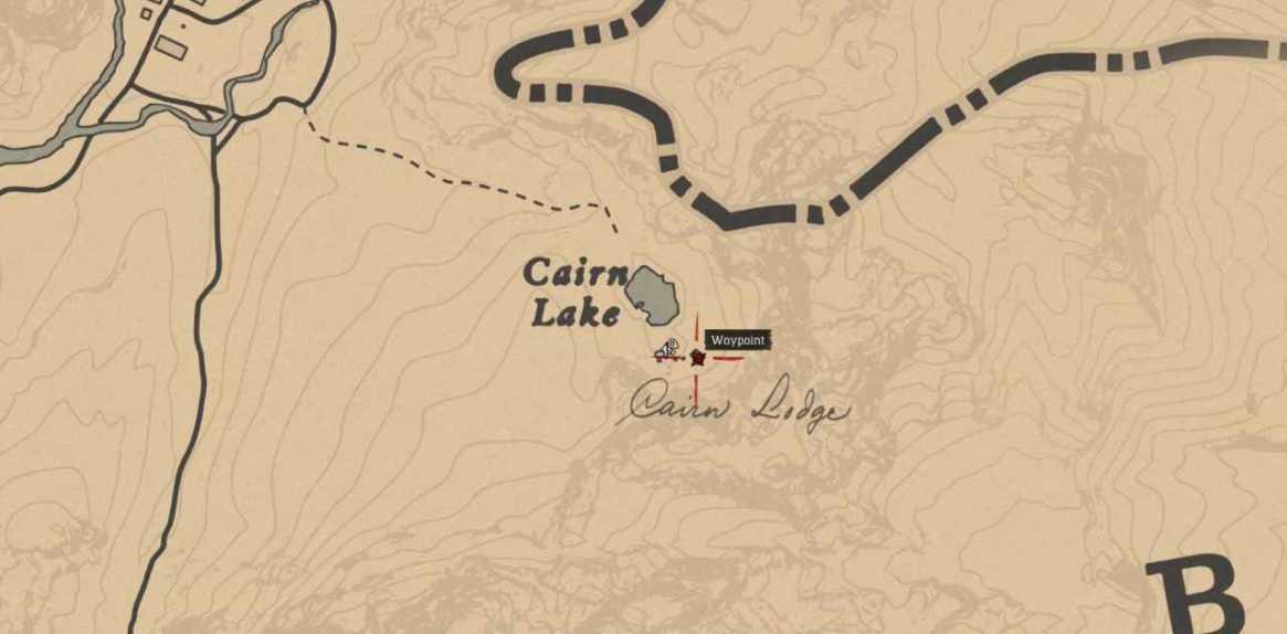 mappa di partenza scia velenosa
