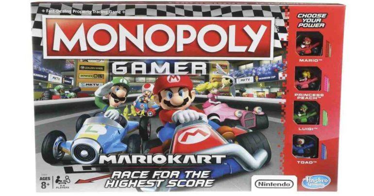 monopoly arriva la versione dedicata a mario kart