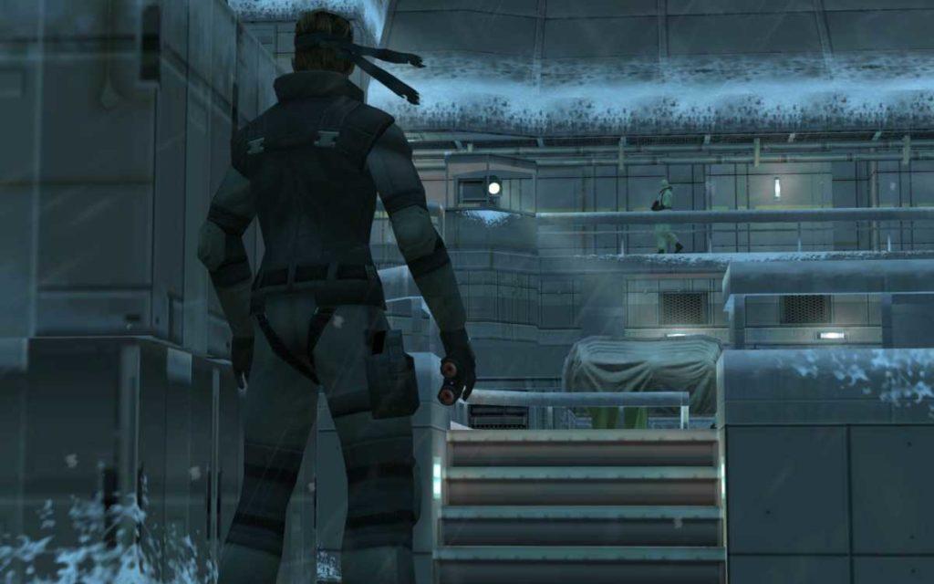 Metal Gear Solid: Twin Snakes cutscene