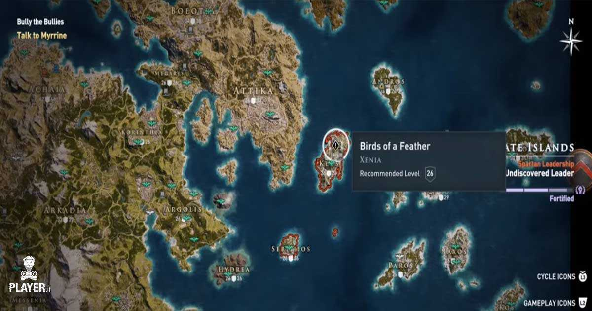 Assassin\u0027s Creed Odyssey \u2013 Tutte le mappe del tesoro di Xenia giuste